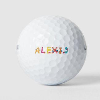 アレキシスのゴルフ・ボール ゴルフボール