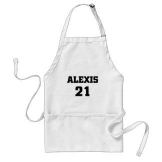 アレキシス21 スタンダードエプロン