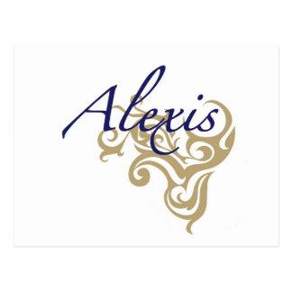 アレキシス ポストカード