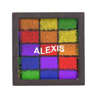 アレキシス(女性の名前) ギフトボックス