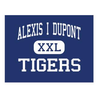 アレキシスI Du Pontのトラの中間ウィルミントン ポストカード