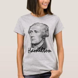 アレクサンダー・ハミルトンのポートレート Tシャツ