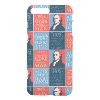 アレクサンダー・ハミルトンの引用語句 iPhone 8 PLUS/7 PLUS ケース