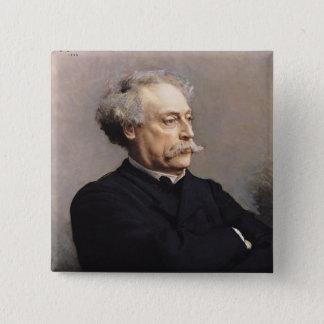 アレグサンダーデュマFils 1886年 5.1cm 正方形バッジ