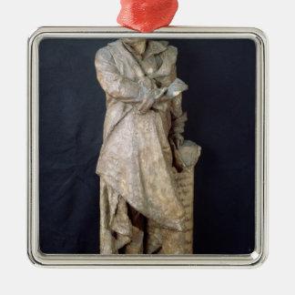 アレグサンダーデュマPere、c.1883-87の彫像 メタルオーナメント