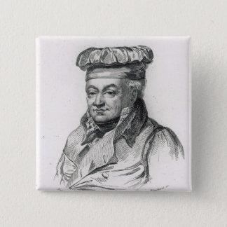 アレグサンダーGrimod de la Reyniere 5.1cm 正方形バッジ
