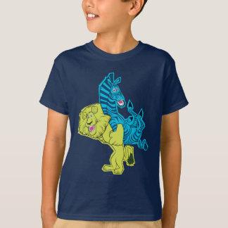 アレックスおよびMartyの相棒 Tシャツ