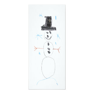アレックスの雪だるま カード
