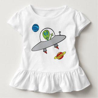 アレックスエイリアン-幼児のひだのティー トドラーTシャツ