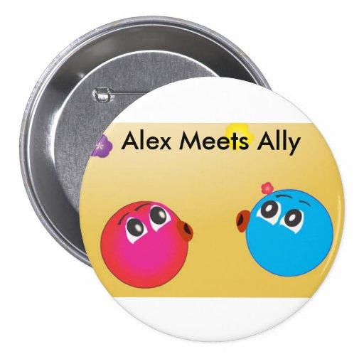アレックス|大会|同盟国|おもしろい|Photo.Cute|スマイリーマーク ピン