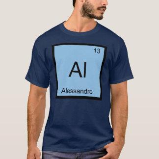 アレッサンドロ一流化学要素の周期表 Tシャツ