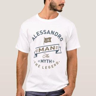 アレッサンドロ人 Tシャツ