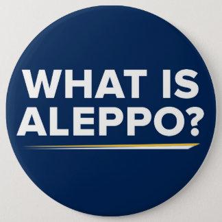 アレッポは何ですか。 ギャリージョンソンの引用文ボタン 15.2CM 丸型バッジ