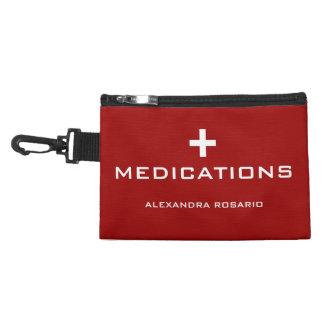 アレルギーの緊急時の薬物 アクセサリーバッグ