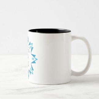 アレルギーのHalalグルメのマグ ツートーンマグカップ