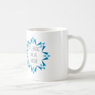 アレルギーのHalalグルメのロゴ コーヒーマグカップ