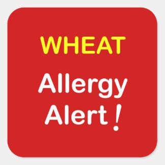 アレルギー警報-ムギ スクエアシール