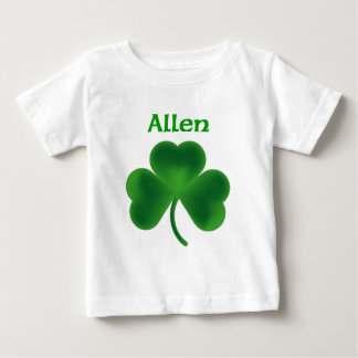 アレンのシャムロック ベビーTシャツ