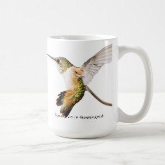 アレンのハチドリのマグ コーヒーマグカップ