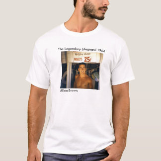 アレンブラウン1964年伝説のライフガード Tシャツ