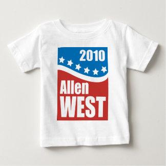 アレン西の2010年 ベビーTシャツ