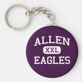 アレン-イーグルス-アレンの高等学校-アレンテキサス州 キーホルダー