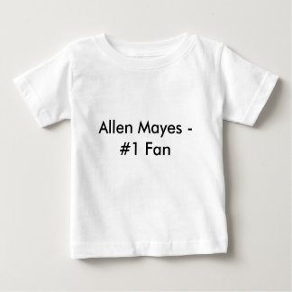 アレンMayes - #1ファン-ベビー ベビーTシャツ