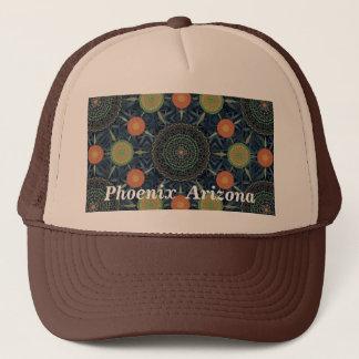 アロエのヴィエラの曼荼羅の配列の帽子 キャップ