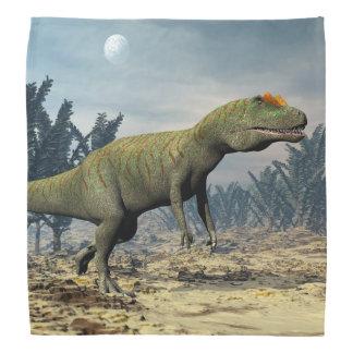 アロサウルスの恐竜- 3Dは描写します バンダナ
