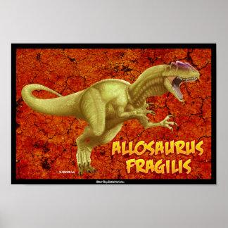 アロサウルス ポスター