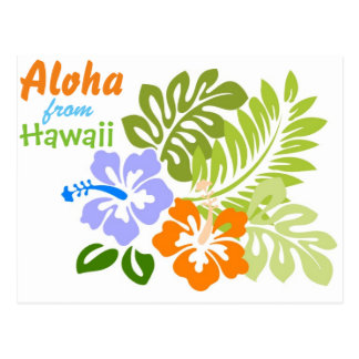 アロハハワイから ポストカード