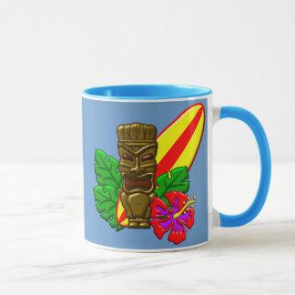 アロハハワイのサーファー マグカップ