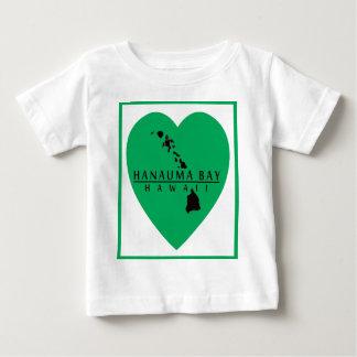 アロハハワイのハート ベビーTシャツ