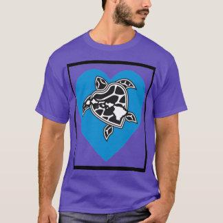アロハハワイのハート Tシャツ