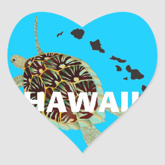 アロハハワイの島 ハートシール