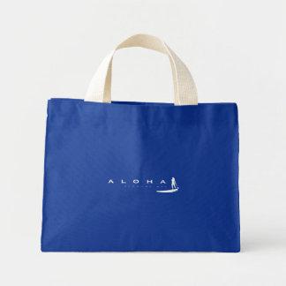 アロハハワイは立ちま漕ぎます ミニトートバッグ