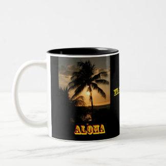アロハハワイ ツートーンマグカップ