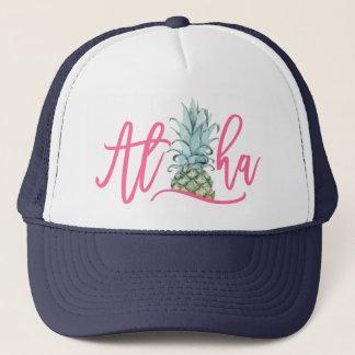 アロハパイナップルトラック運転手の帽子 キャップ