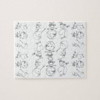 アロハフラ女の子 ジグソーパズル
