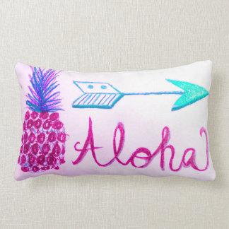アロハ夏のパイナップル狭いところのデザインの装飾の枕 ランバークッション