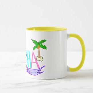 アロハ旗のマグ マグカップ