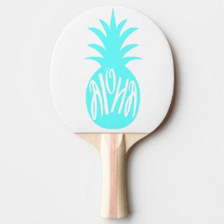 アロハ水のパイナップル 卓球ラケット