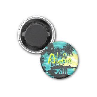 アロハ水の日没の磁石 マグネット
