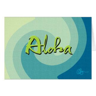 アロハ波 カード