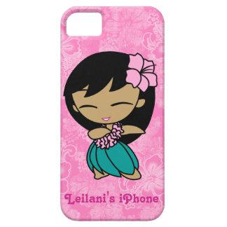 アロハ蜂蜜のフラ女の子のやっとそこにiPhone 5の場合 iPhone SE/5/5s ケース