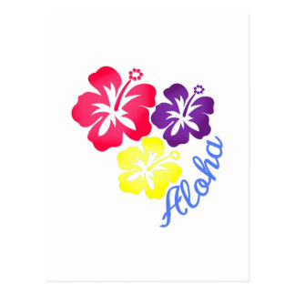 アロハ ポストカード