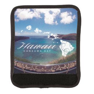 アロハHanauma湾のハワイのカメ ラゲッジ ハンドルラップ