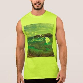 アロハHanauma湾のハワイの島 袖なしシャツ