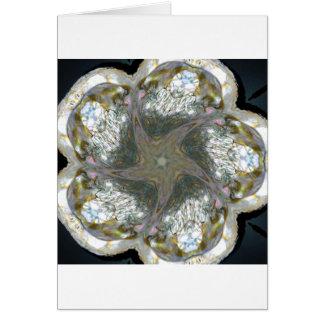 アワビの貝の星2013年1月 カード