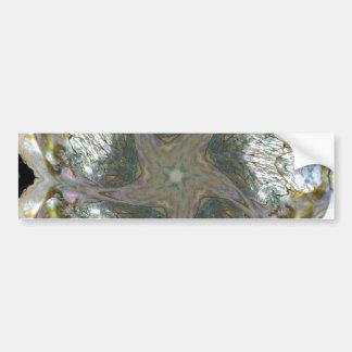 アワビの貝の星2013年1月 バンパーステッカー